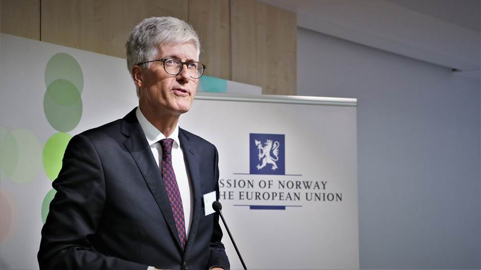 Ambassador Fife - Photo:Mission of Norway to the EU