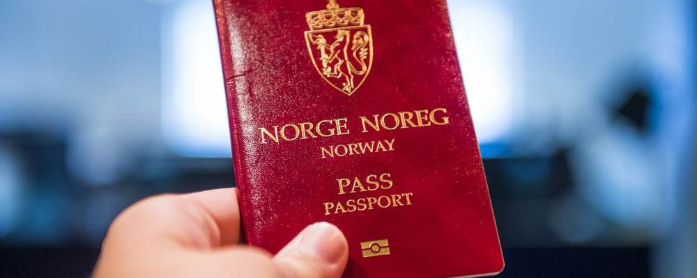 Norwegian Passport - Photo:  Photo: Jon Olav Nesvold / NTB scanpix