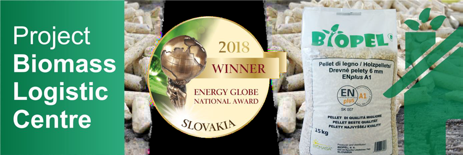 Biopel National Energy Award - Photo:energyglobe.com