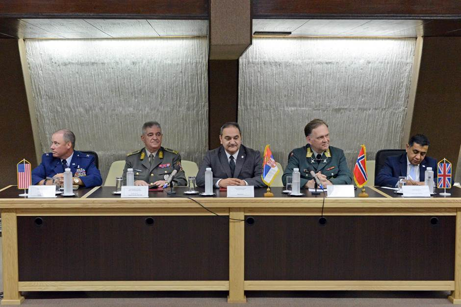 The Conference presentation was led by an international panel - Photo:Ministry of Defence Republic of Serbia