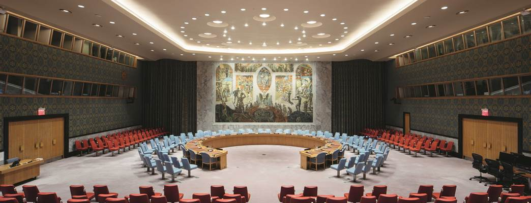 Security Council Chamber - Foto:Ivan Brodey