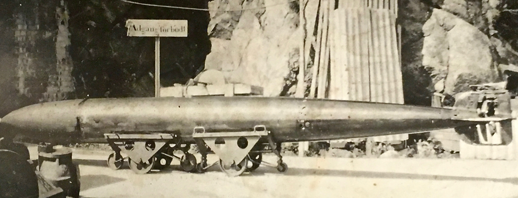 Picture of the same torpedo type used in the attack - Photo:Photo: Oscarsborg