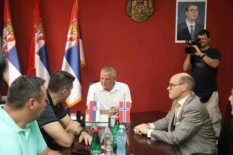 Meeting with Sid Mayor