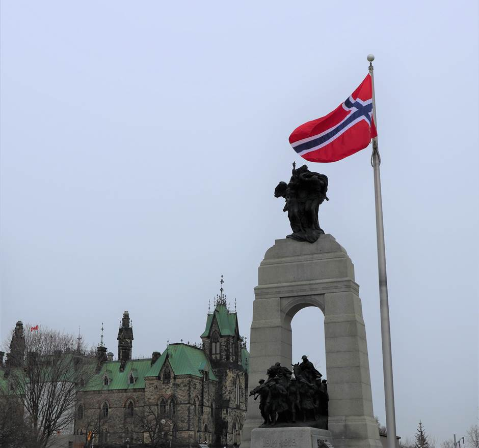 NorwFlag_WarMemorial