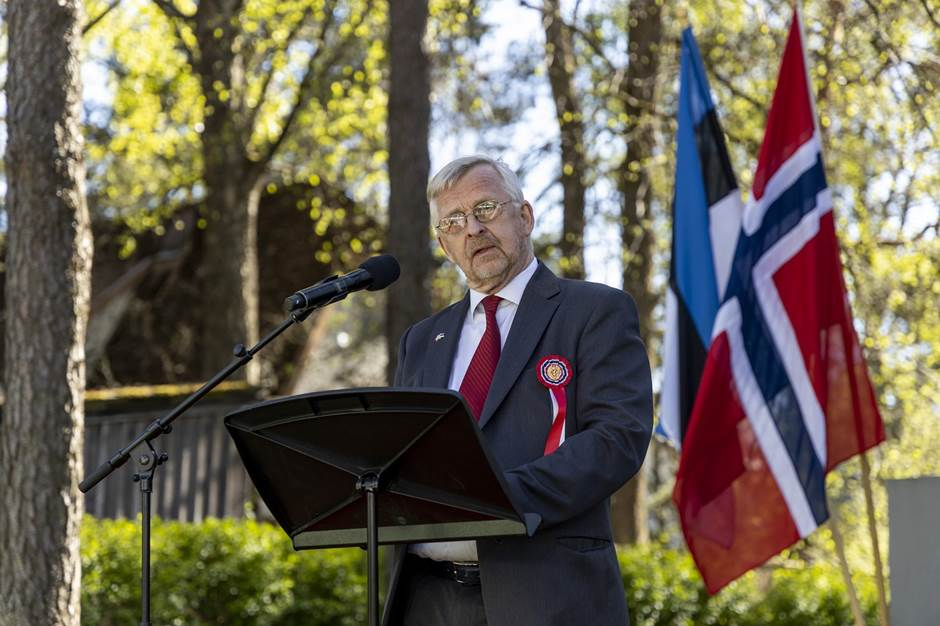 Speech by Mr. Ole Øveraas - Foto:Kalev Lilleorg