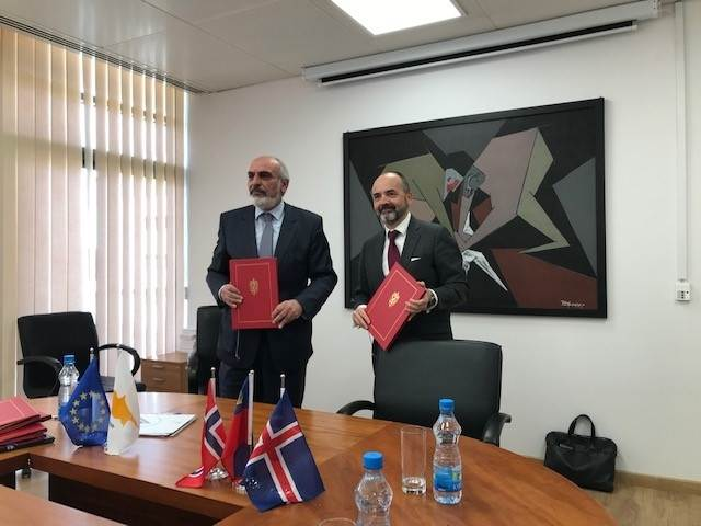 New cooperation agreement signed with Cyprus - Photo:Norway MFA
