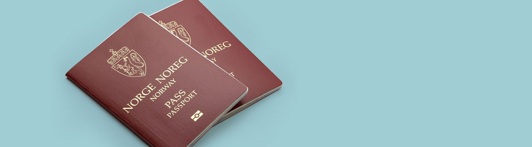 Norwegian Passport - Photo:Avinor