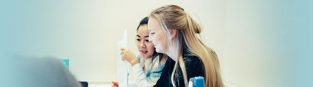 Students studying - Photo:Ilja C. Hendel
