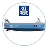 Yara birkeland boat - Photo:Yara