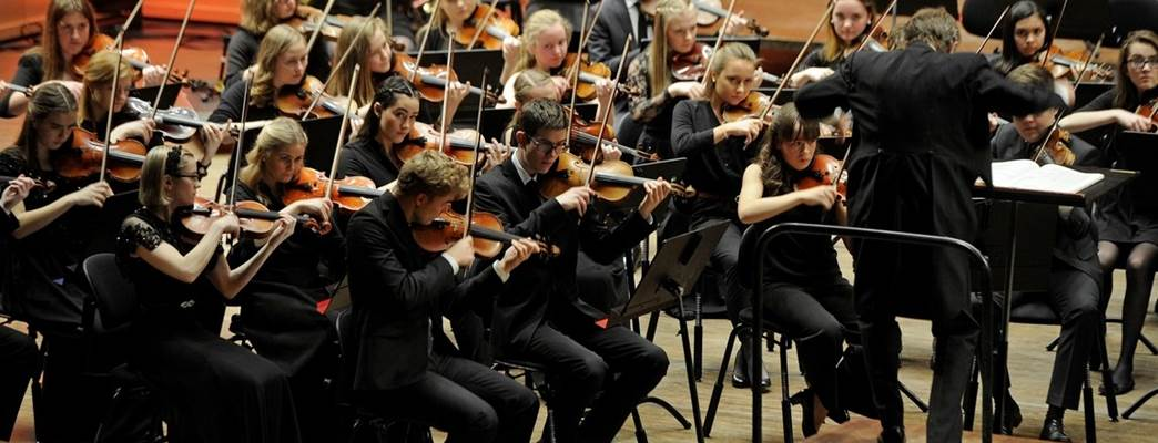 Bergen Philharmonic Youth Orchestra - Photo:Helge Skodvin