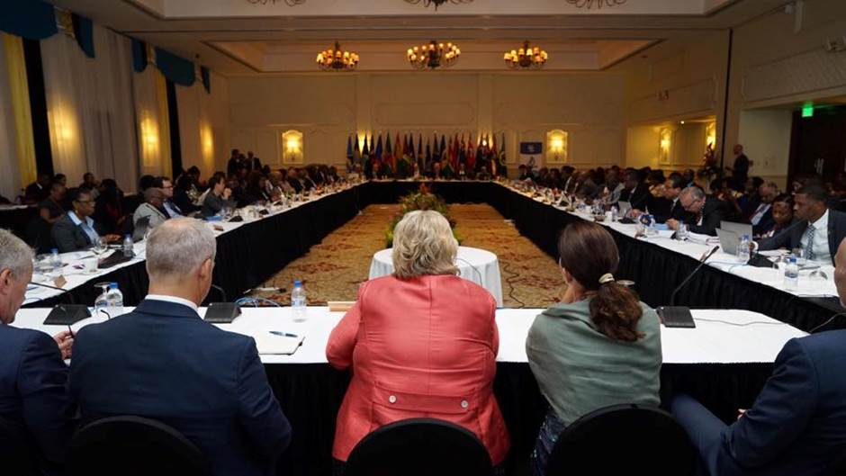 The Fortieth Regular Meeting of the Conference of Heads of Government of CARICOM. Photo: Arvid Samland